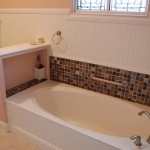 custom home bath tub