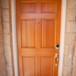 Solid Real Wood Front Door