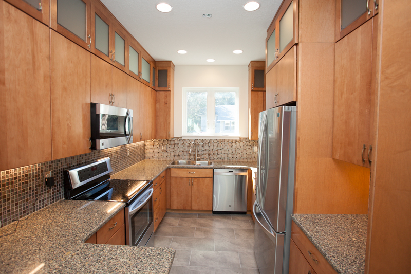 Custom Kitchen Cabinets and Granite Countertops