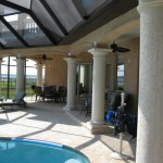 custom home builder with custom pool